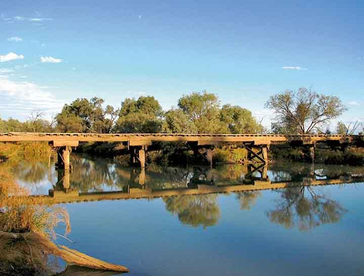 Aramac Railway Bridge