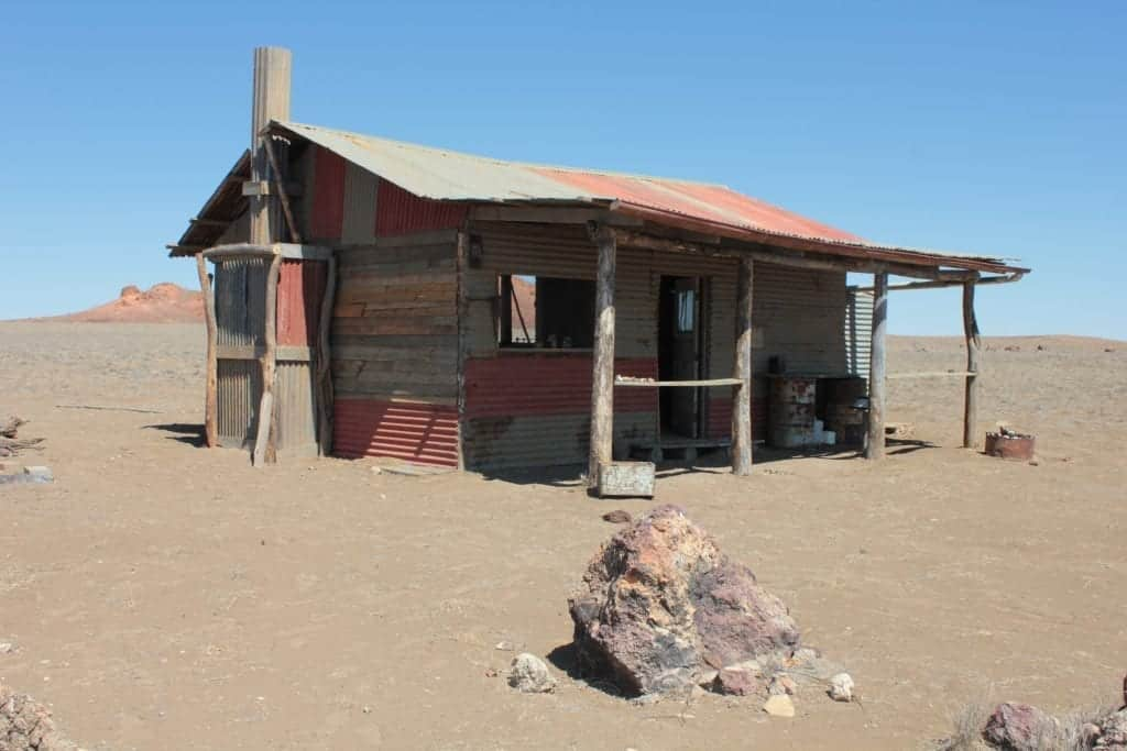 Shack featured in the goldstone movie