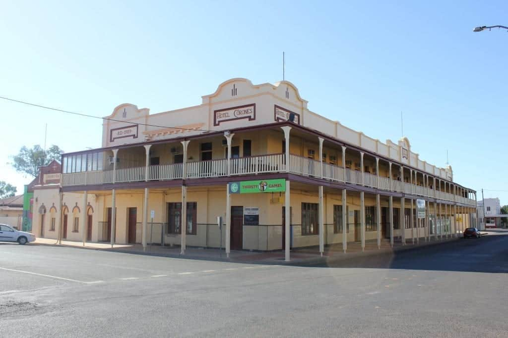 The Historic Corones Hotel in Charleville