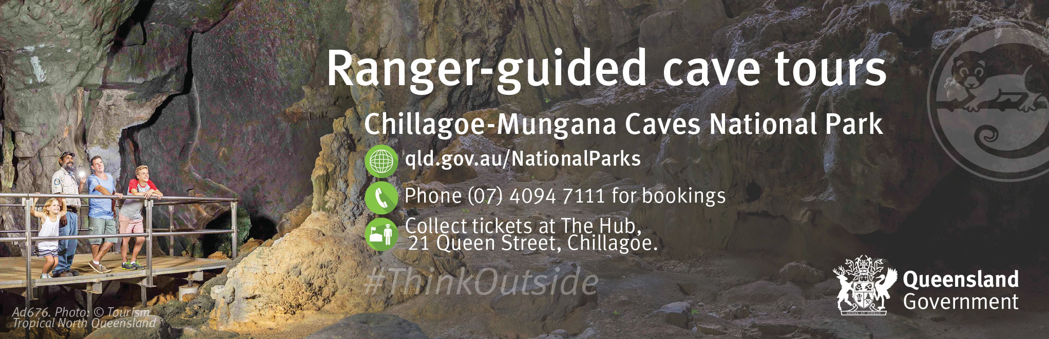 Ranger-guided cave tours