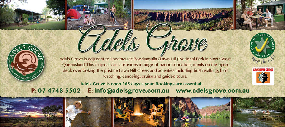 Adels Grove Advertisement