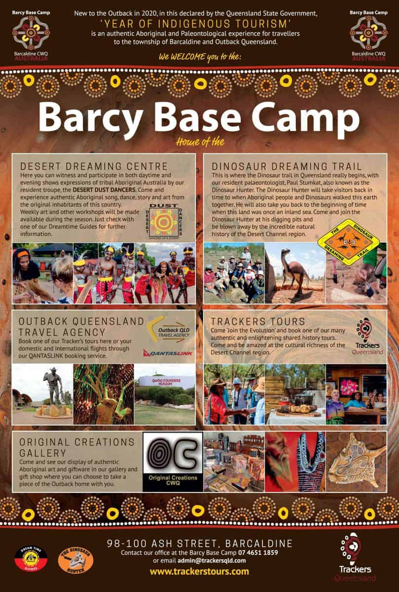 Barcy Base Camp Advertisement
