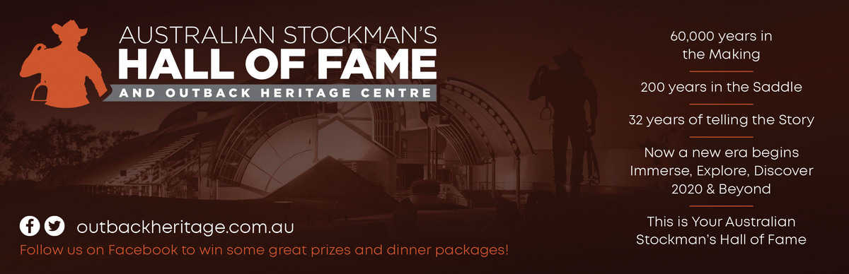 Australian Stockmans Hall of Fame Advertisement