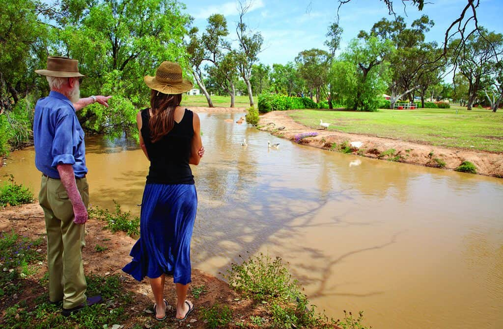 Outback Native Timber walk in Charleville