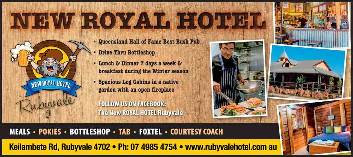 New Royal Hotel Advertisment
