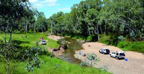 Creek-fossicking
