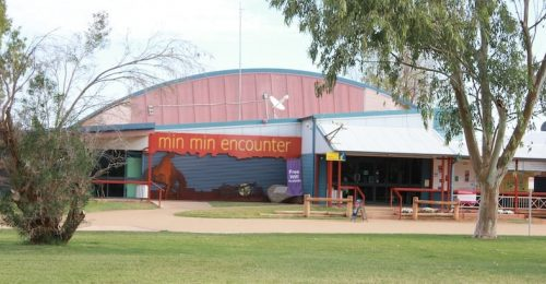 The Min Min Encounter Building